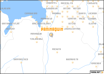 map of Panimaquim