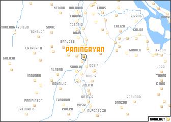 map of Paningayan