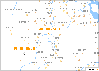 map of Panipiason
