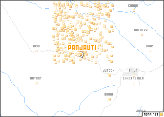 map of Panjauti