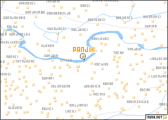 map of Panjik