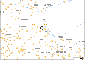 map of Panjkora Kili
