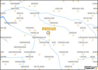 map of Pankun