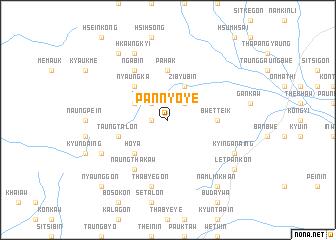 map of Pan-nyo-ye