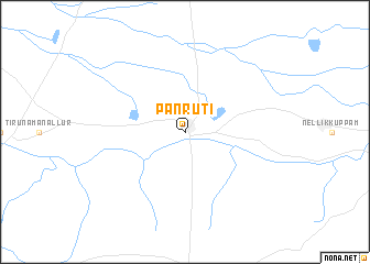 map of Panruti