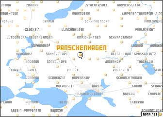 map of Panschenhagen