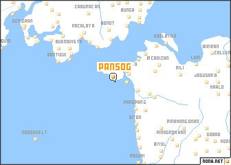 map of Pansog