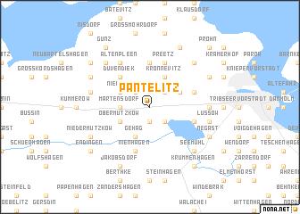 map of Pantelitz
