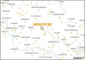 map of Panucatan