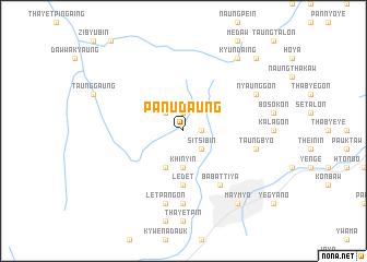 map of Panudaung