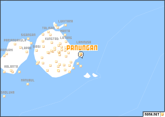 map of Panungan