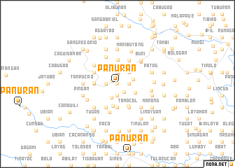 map of Panuran