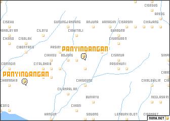 map of Panyindangan