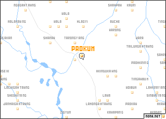 map of Paokum