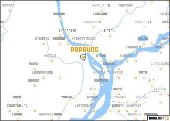 map of Papaung