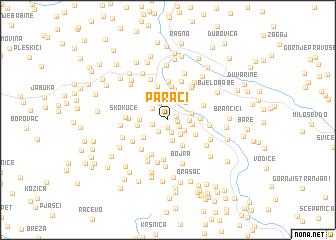map of Paraći