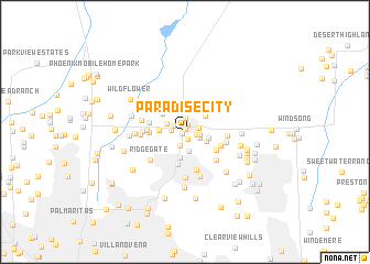 map of Paradise City