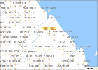 map of Paraíso