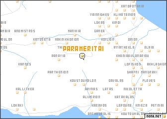 map of Paramerítai