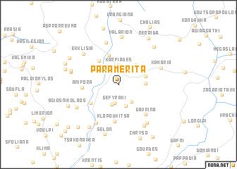 map of Parameríta