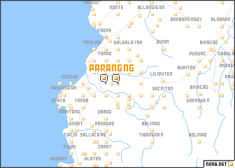 map of Parang