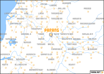 map of Parang
