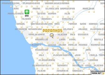 map of Paranhos
