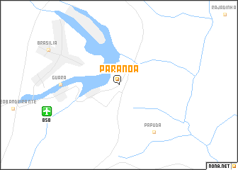 map of Paranoá