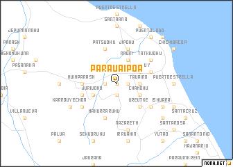 map of Parauaipoa