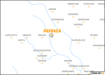 map of Paraw Ga