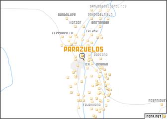 map of Parazuelos