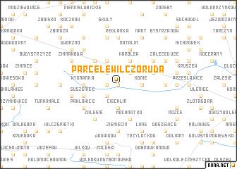 map of Parcele Wilczoruda