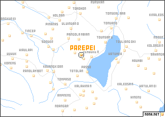 map of Parepei
