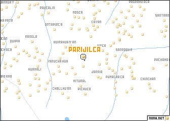 map of Parijilca