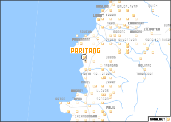 map of Paritang