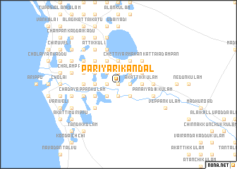 map of Pariyarikandal