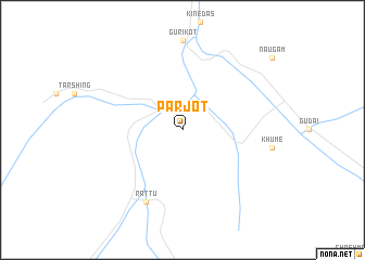 map of Parjot