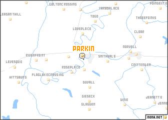 map of Parkin