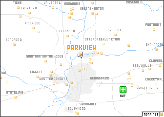 map of Parkview