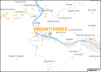 map of Parkway Terrace