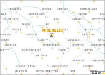 map of Parlascio