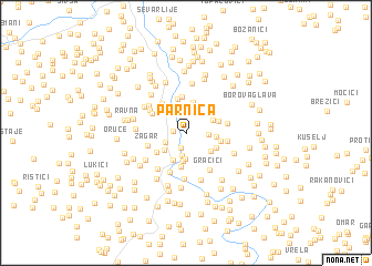 map of Parnica