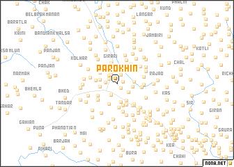 map of Parokhin