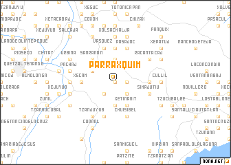 map of Parraxquim