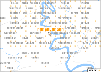 map of Pār Sālnagar