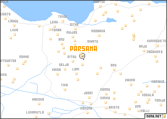map of Pärsama