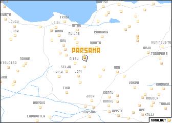 map of Pärsama