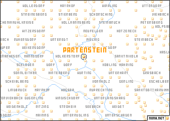 map of Partenstein