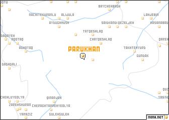 map of Parū Khān