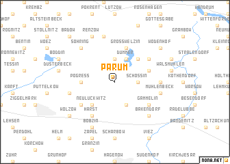map of Parum